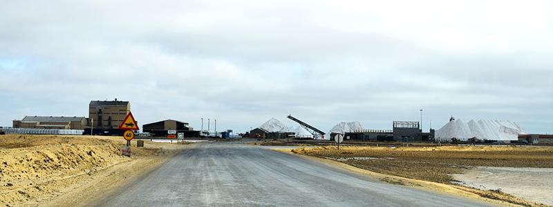 Exterior Salt Mines